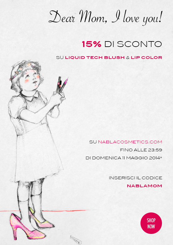 Nabla - Sconto 15% su Liquid Tech Blush e Lip Color