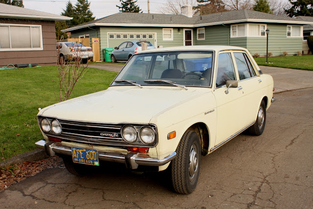 1973 Datsun 510 sedan.