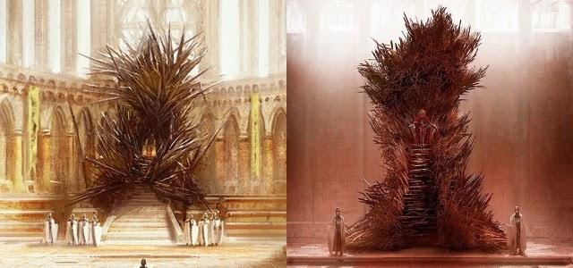 Juego de tronos y la filosof a el trono de hierro - Trono de hierro ...