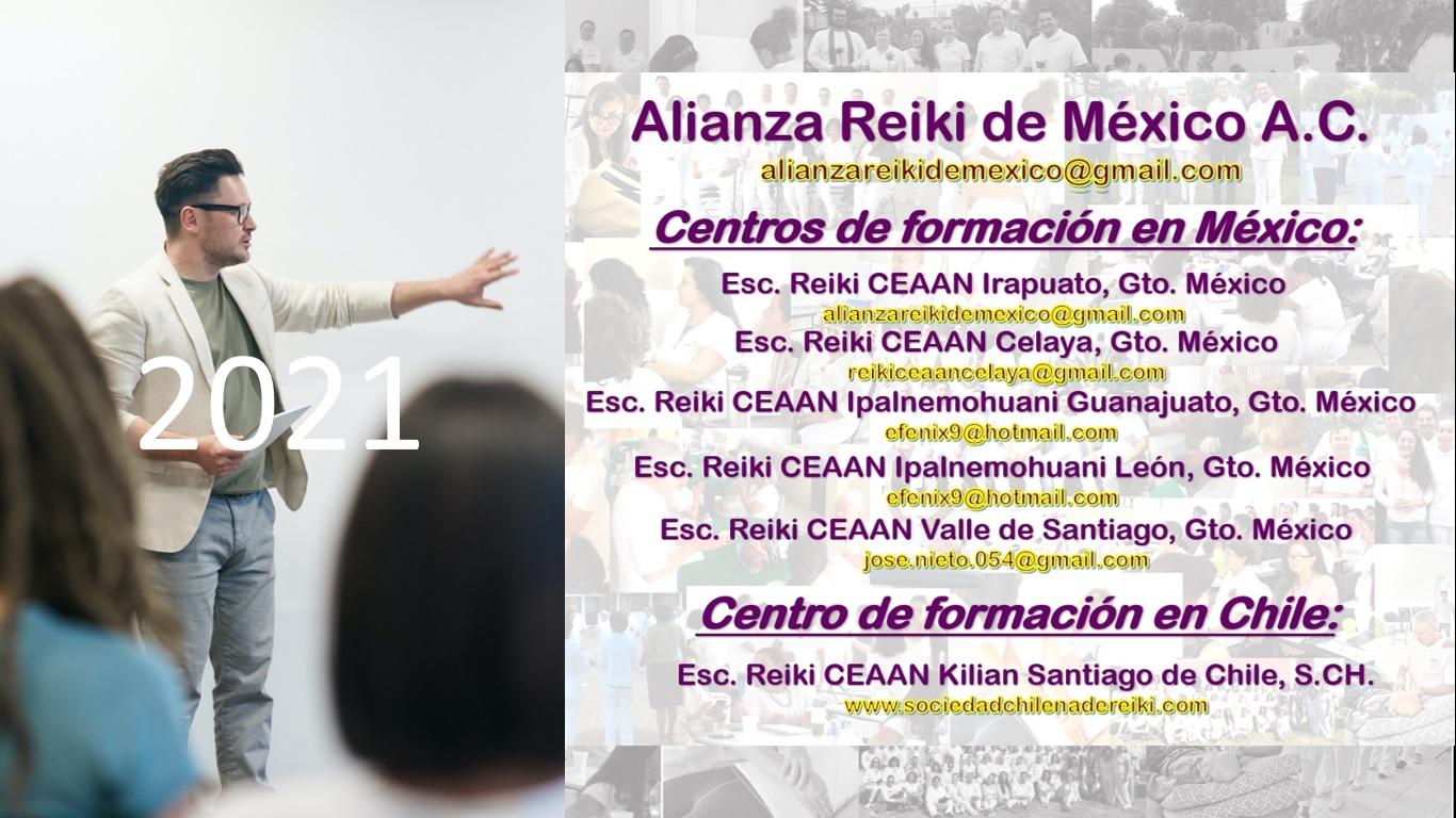 CENTROS DE FORMACION AUTORIZADOS 2021