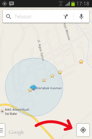 Melaporkan Tempat Ke google maps