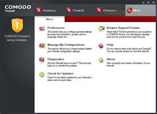 Lindungi PC dengan Comodo Firewall 2011