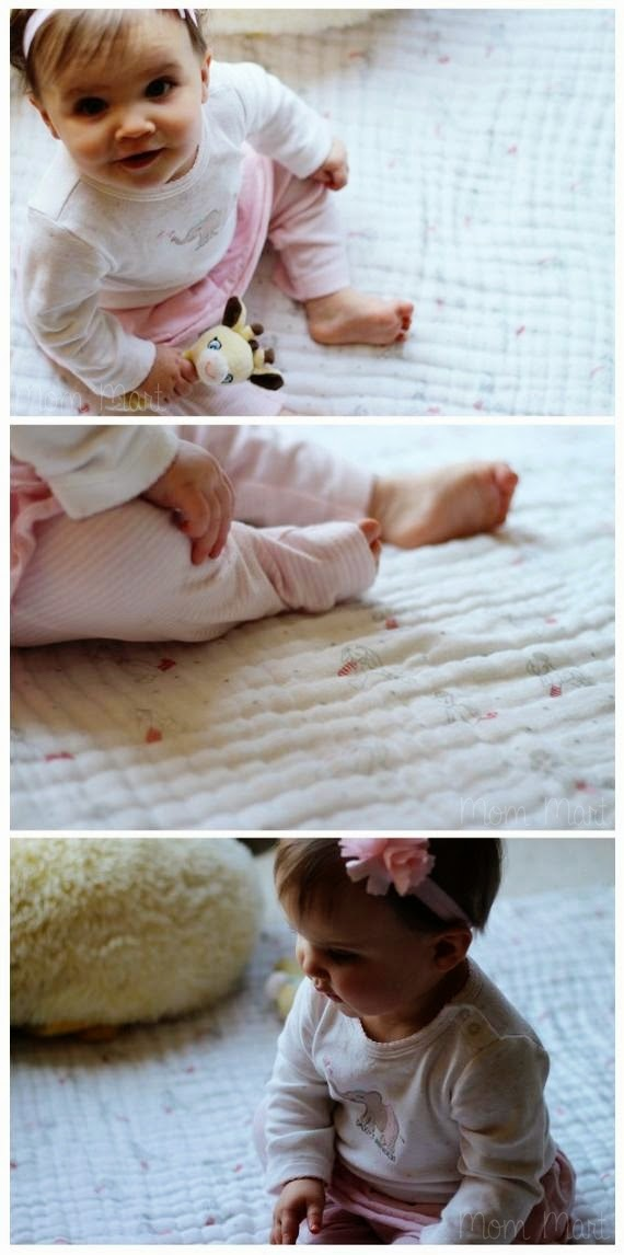 AdenAndAnais Dream Blanket #Review #Giveaway #HappyBaby #AdenAndAnais #DreamBlanket