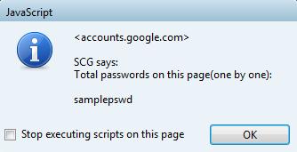unmask password javascript