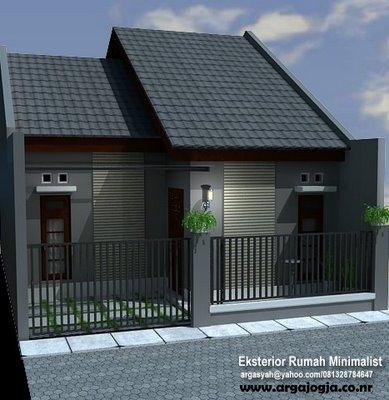 Desaian Rumah on Tampilan Luar Rumah Minimalis   Amid Design