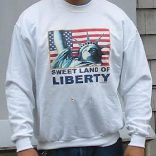Order a Sweet Land of Liberty Sweatshirt