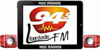 ouvir a Rádio Liberdade FM 94,5 Rolim de Moura RO