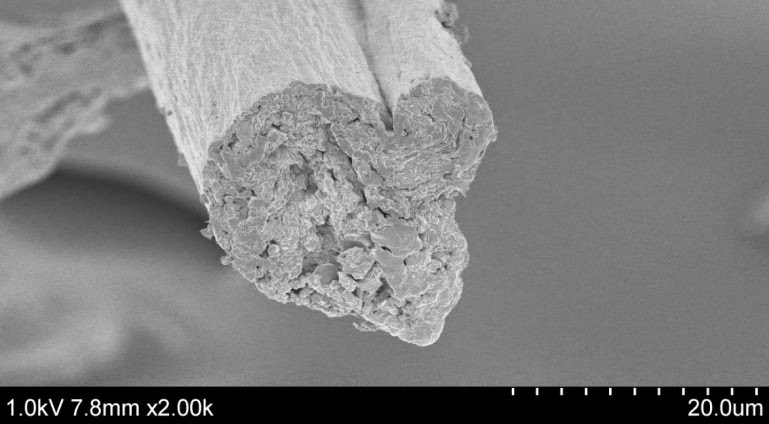 cellulose fiber strong as steel