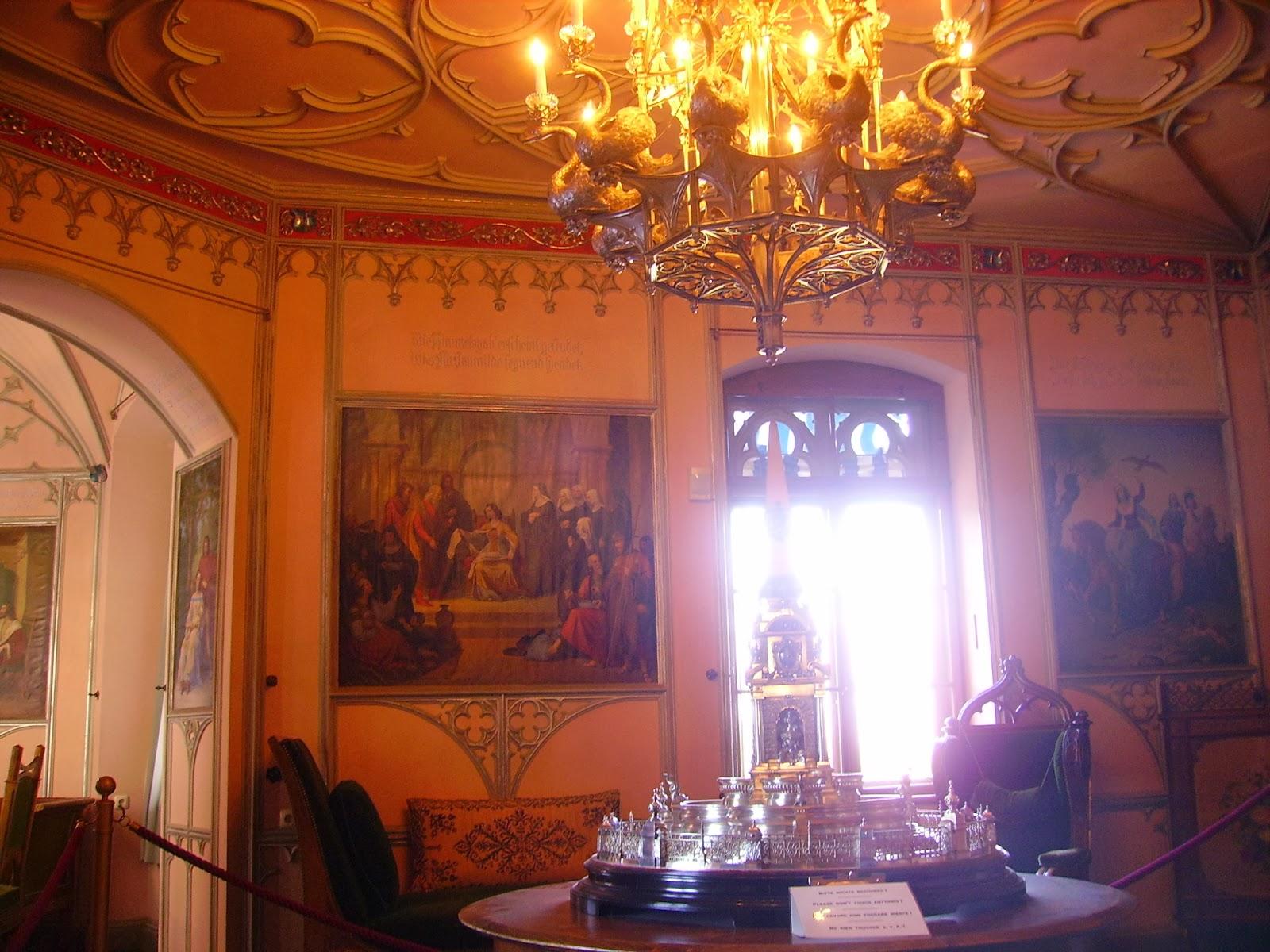 Hohenschwangau inside outside decoration
