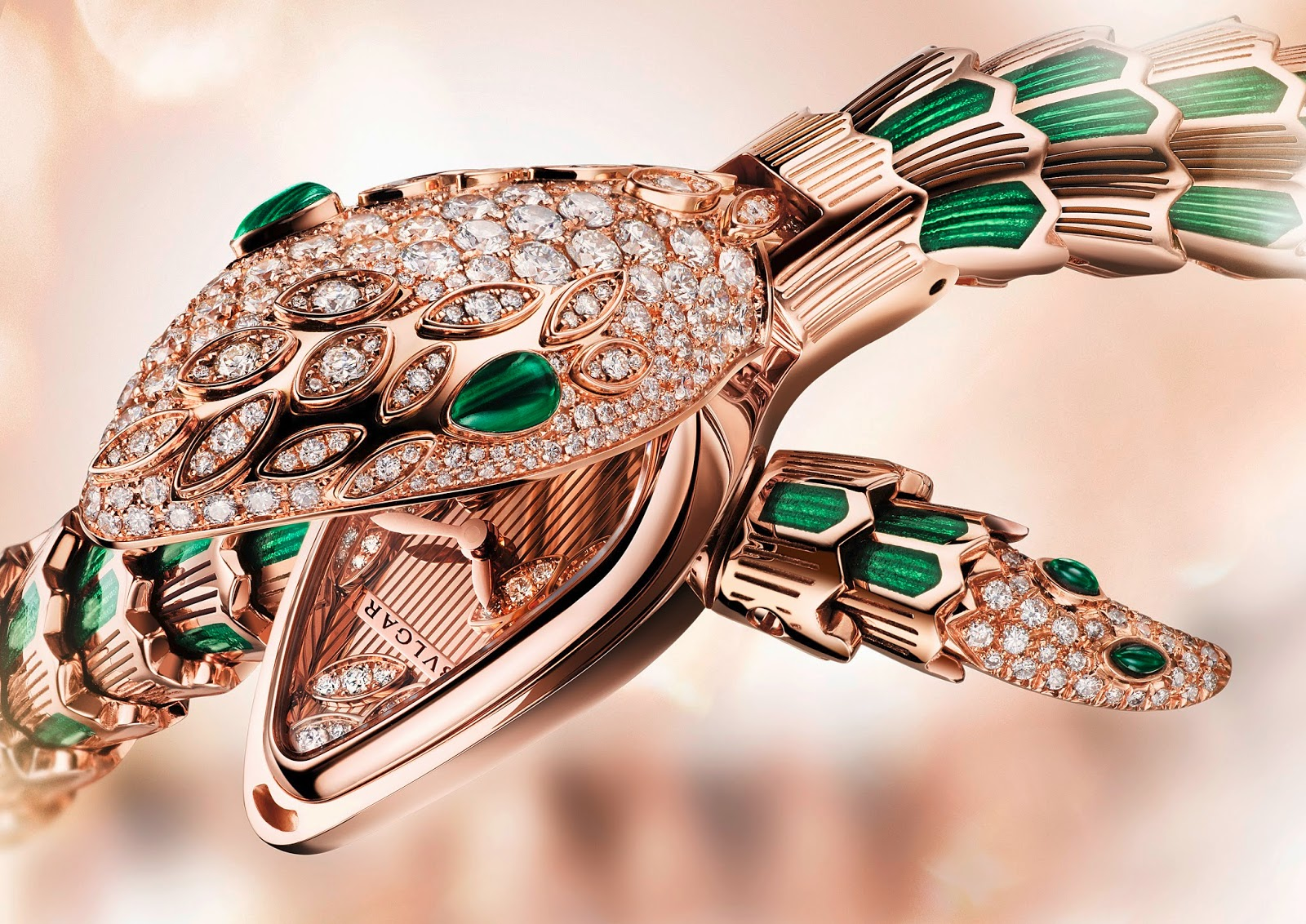 Bulgari's New High Jewellery Serpenti Watches