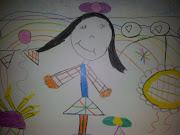 Dibujos de niños. Dibujo de M (Segun M soy yo) Picasiana Total! dsc