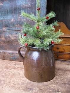 Early Batter Jug w Tree