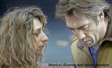 Maricel Álvarez and Javier Bardem