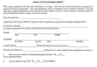 job application form examples 4