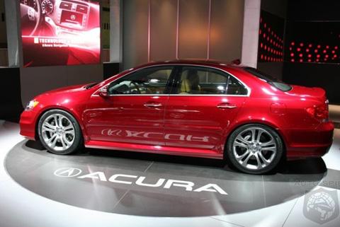 Acura on Top Speed Latest Cars  2009 Acura Rl