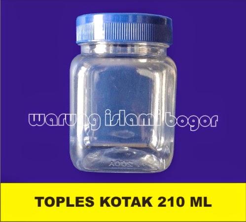 Jual Jar Plastik Kotak 200ml