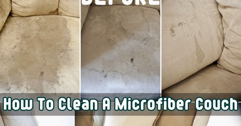How To Clean A Microfiber Couch Diy Craft Projects