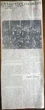 """Commemorazione dello """"Squadrista""""  Aldo Menozzi """"Caduto per la Rivoluzione"""" a Monza il 9 Agosto 192"""