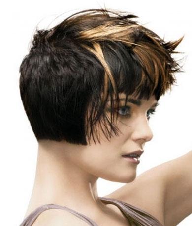 Stylish Brunette Hair Highlights 2013
