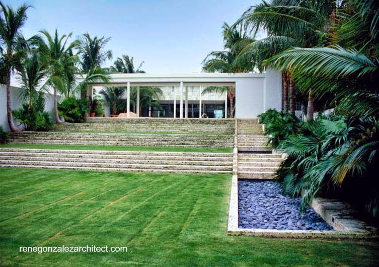 Casa Moderna de los años 30 en Palm Beach renovada