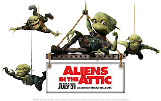 Aliens in the Attic Movie Wallpaper