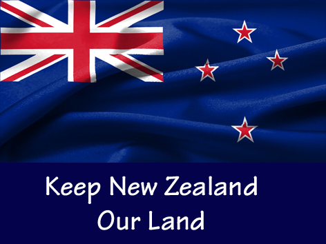 Keep NZ our land D17