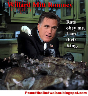 Willard Mitt Romney, Willard Mitt Romney's real name, funny Mitt Romney, Willard Mitt Romney king of the rats