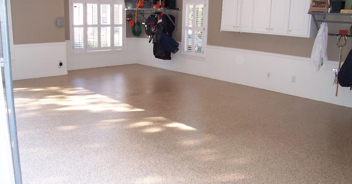 Garage floor tiles vs epoxy paint