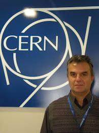 Dr. Bill Ag. Drougas at CERN Geneva