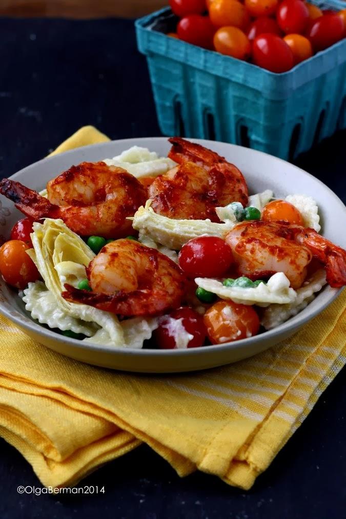 Pasta With Shrimp, Artichokes And Feta Recipes — Dishmaps