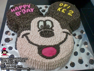 kue tart ulang tahun mickey mouse