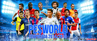 Patch PES 2013 Terbaru dari PES Wordl Patch 1.0
