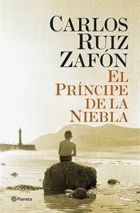 Ranking Semanal. Número 8: El Principe de la Niebla, de Carlos Ruiz Zafón.