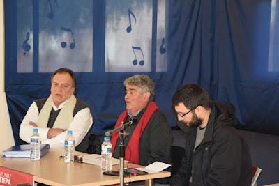 Συζήτηση-ενημέρωση για το ασφαλιστικό και συνταξιοδοτικό νομοσχέδιο στο Ωδείο Άνω Λιοσίων