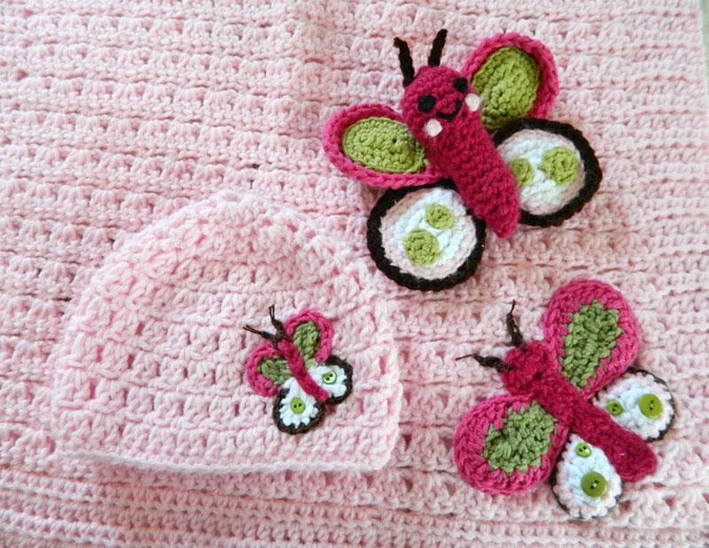 crochet d lane: Butterfly Kisses