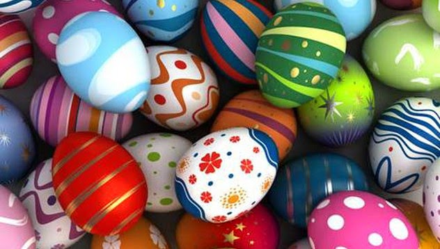 Easter holiday comes