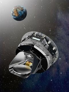 Planck Surveys Cosmic Background Radiation