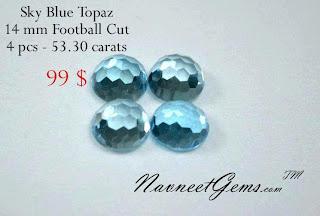 Wholesale Sky Blue Topaz
