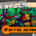 Teenage Mutant Ninja Turtles # 60 y 61