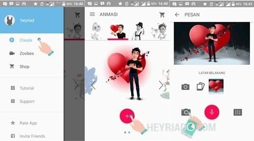 Aplikasi Pembuat Video Animasi di Android