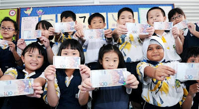 Bantuan RM100 Sekolah DiBayar Bermula 15 Januari 2013