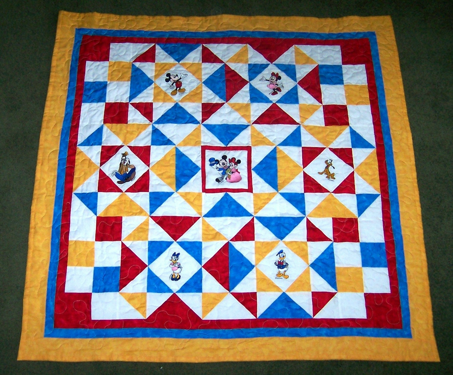 Jane's Quilting: Disney Quilts : disney quilts - Adamdwight.com