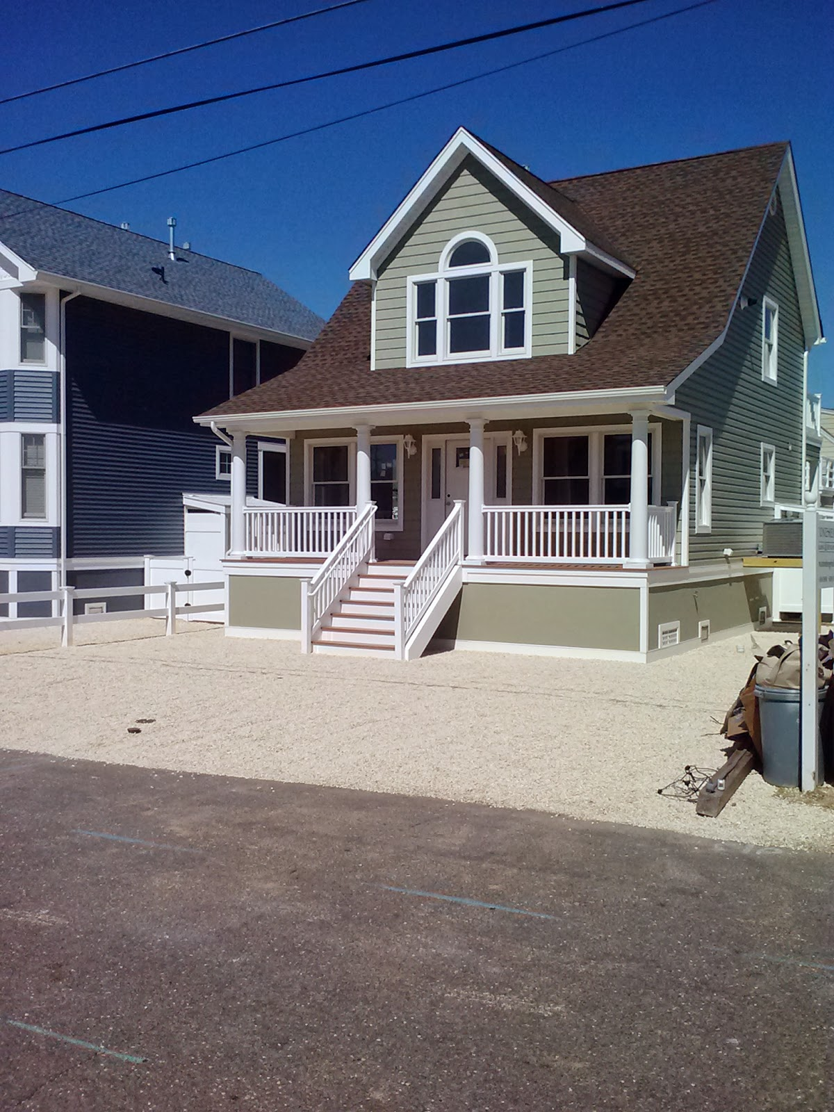 Keeping The Cape Cod Feel In Elevated Jersey Shore Custom