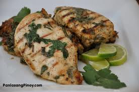Cilantro Lime Grilled Chicken Breast