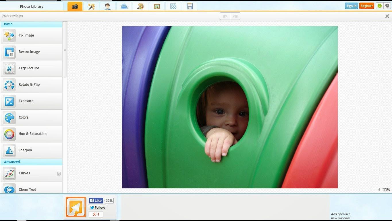 iPiccy belajar edito foto keren