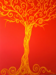 "mural ""The Golden Tree"""