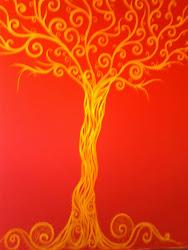 "mural ""The Golden Tree"""