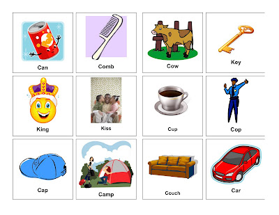 K Words For Kids Clear Speech Therapy: K Words