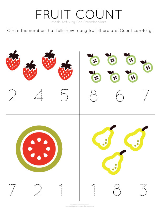 Printables Pre K Numbers Worksheets prek worksheet davezan