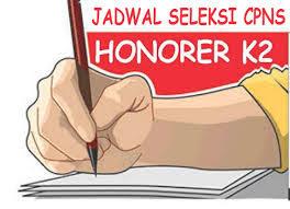 Jadwal Tes CPNS Untuk Honorer K2